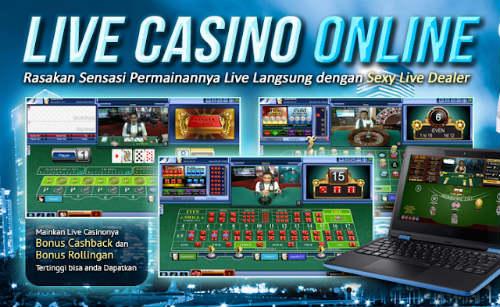 Judi Live Casino Sbobet Online Terpercaya